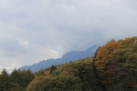 The slopes of Nishi Dake, which form a chain with Mt. Togakushi.